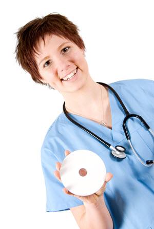 bollini porta cd e dvd per studi medici